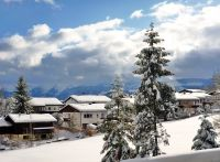 Aktuell (Dezember)mit viel Schnee - Bild 8: Ferienwohnung im Allgäu mit Bergsicht zwischen Bodensee und Neuschwanstein